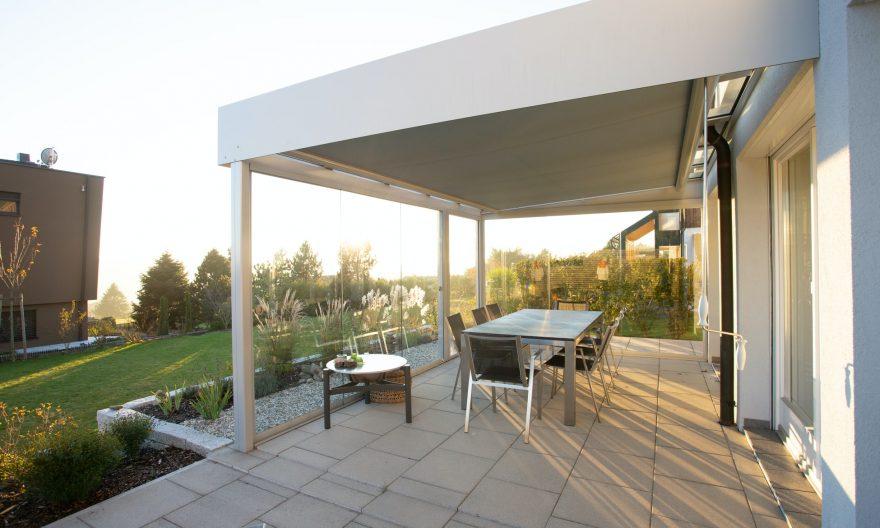 Nettoyage et entretien d'une terrasse de maison